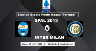 Prediksi SPAL Inter Milan